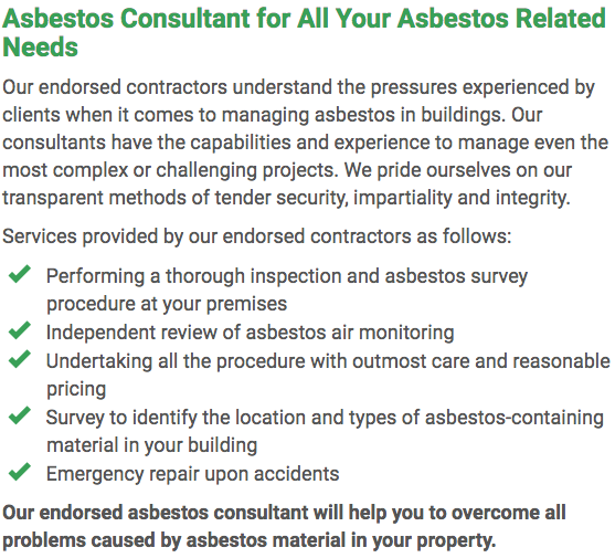 Asbestos Watch Central Coast - consultant right