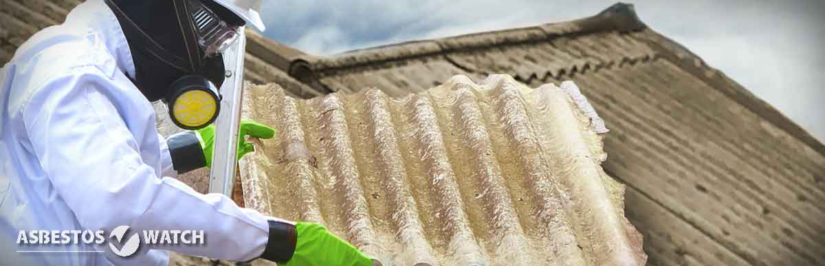 removing asbestos roof in Central Coast house